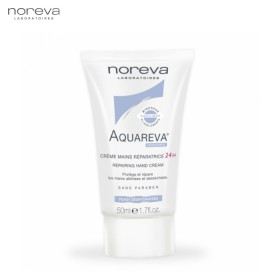 Noreva Aquareva Crema de maini reparatoare 24 H x 50 ml