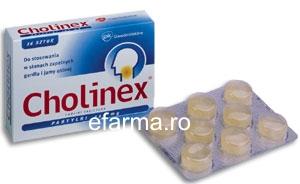 Cholinex,Comprimate de Supt