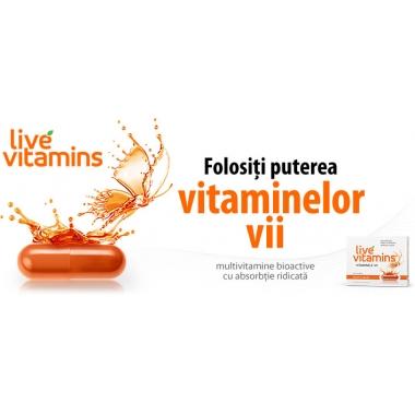 Live Vitamins x 30 cps Vitamine Vii Vitaslim