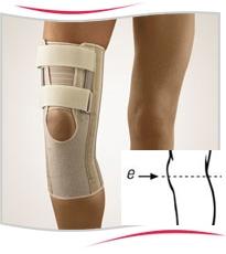Orteza Stabilo pentru genunchi cu deschidere mare la nivelul coapsei