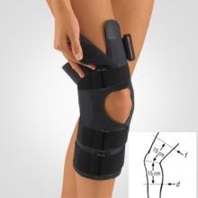 Orteza BORT StabiloPro pentru genunchi, forma deschisa