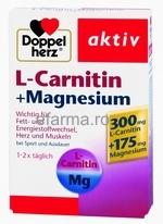 Doppelherz ® Aktiv L- Carnitina+ Magneziu