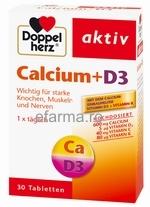 DoppelHerz Calciu & D3 cu vitamina C si K