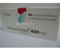 Pentoxifilin retard 400 mg