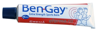 Ben-Gay Extra Strength Sports Balm STOC 0