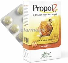 Aboca Propol 2EMF Tablete cu Miere pentru adulti