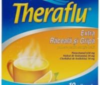 TheraFlu Raceala si Gripa x 10 plicuri