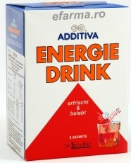 Additiva Energie Drink Plicuri
