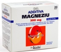 Additiva Magneziu 300 mg