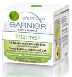Garnier Total Fresh crema hidratanta ten uscat sensibil