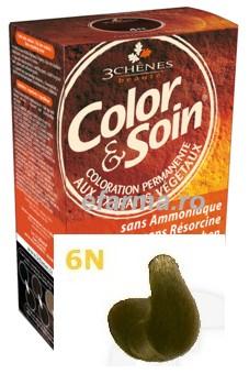 Color & Soin Vopsea Par Naturala 6N Blond Inchis