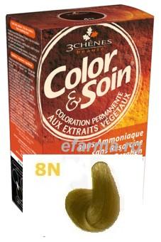 Color & Soin Vopsea Par Naturala 8N Spic de Grau
