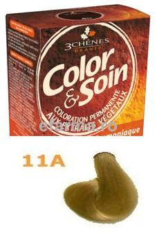 Color & Soin Vopsea Par Naturala 11A Blond Cenusiu Nisipiu
