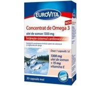 Eurovita Concentrat de Omega 3 x 30 cps