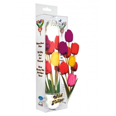 Vibrator model floral lalele salbatice