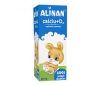Alinan Calciu cu D3 ( capsuni) x 150 ml