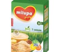 Milupa Bio 7 cereale fara zahar x 250 gr