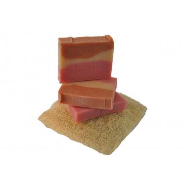 Sapun hidratant natural fabricat manual in farmacie Curcubeu