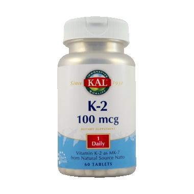 Vitamina K2 100 mcg x 60 cpr, Secom