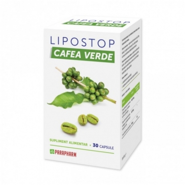 Lipostop cafea verde x 30 cpr , Quantum