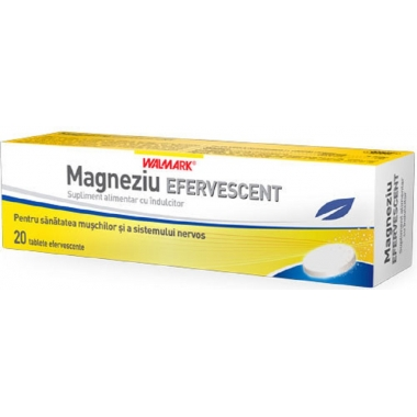 Magneziu x 20 efervescent Walmark