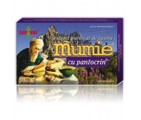 Mumie extract rasina+pantocrin x 30 cpr, Damar