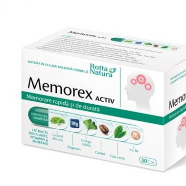 Memorex Activ x 30 cps, Rotta Natura