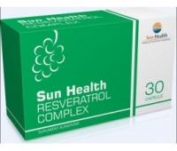 Sun Health Resveratrol Complex x 30 capsule