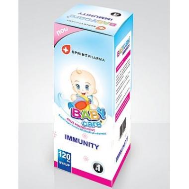 Baby Care Immunity x 120 ml, Sprint Pharma