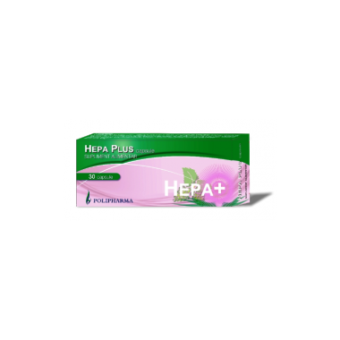Hepa Plus x 30 cps, Polipharma