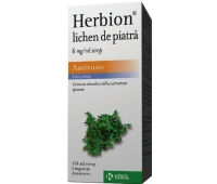 Herbion lichen de piatra 6 mg/ml x150 ml