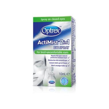 Optrex Spray 2 in 1 Ochi obositi si disconfort x10 ml