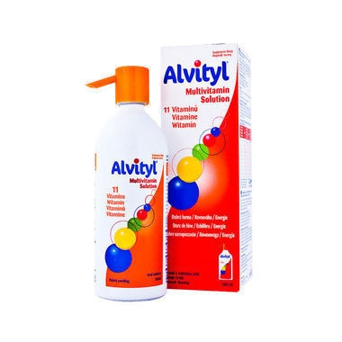 Alvityl Multivitamine Solutie orala x 50 ml, Urgo