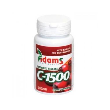 Vitamina C 1500 mg Macese x 90 cps
