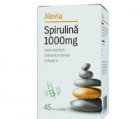 Spirulina 1000 mg *45 cps , Alevia