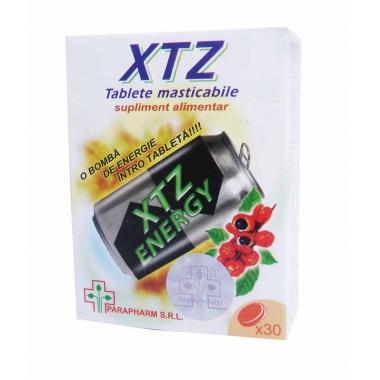 XTZ Tablete Energizante Masticabile x30tb oferta 1+1