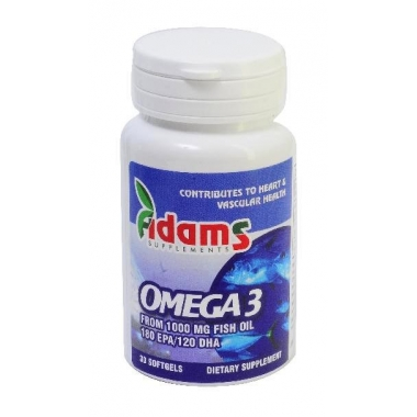 OMEGA 3 1000mg 30cps