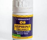 Aspirina organica 60cps