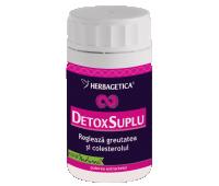 Detox suplu 60 cps, Herbagetica