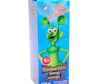 Minimartieni sirop Omega3 150ml