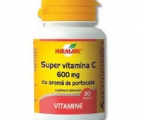 Super Vitamina C 600mg 30tb