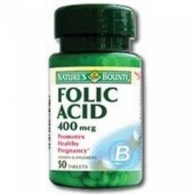 Acid folic 400mg 50tb