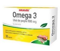 Omega 3 ulei de peste 1200mg 30cpr