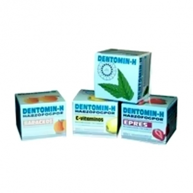 Dentomin-H praf de dinti spumant lamaie 25g
