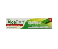 Pasta de dinti Whitening aloe vera+siliciu Q10 (cu fluor) 100ml