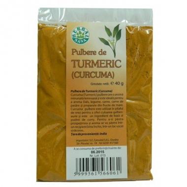 Turmeric (curcuma) pulbere 40g