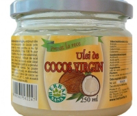 Ulei cocos virgin presat la rece 250ml
