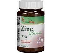Gluconat de Zinc 30mg 90cpr