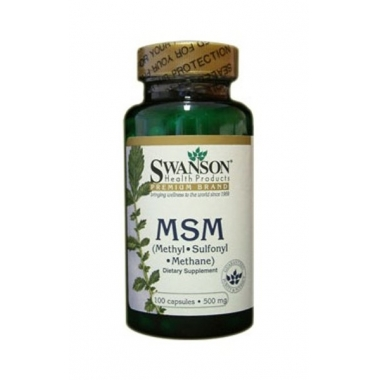 MSM 500mg 100cps