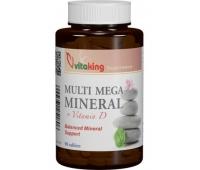 Multi Mega Mineral + Vitamin D 90cpr